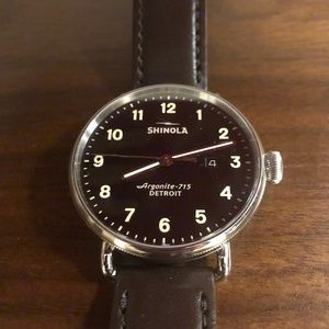 Black Shinola - The Canfield 43mm